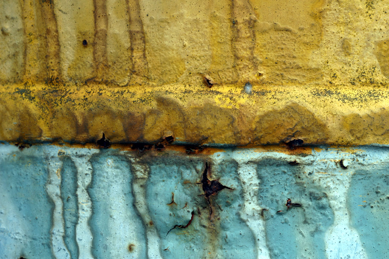 Blue Rust Yellow Rust
